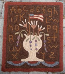 Ewe and Eye Designs Rug Hooking